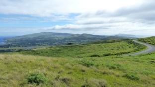 La vue sur l'île est magnifique depuis le sommet