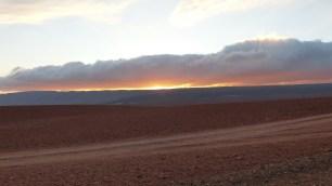 Le soleil se couche...