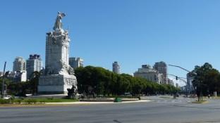 L'avenida Libertador est vraiment monumentale