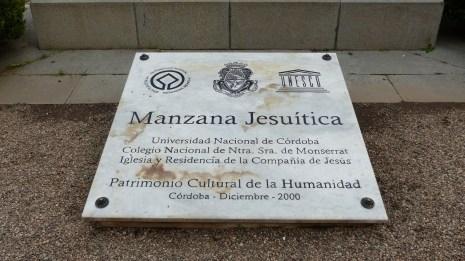 La manzana et ses estancias sont inscrites au patrimoine mondial de l'UNESCO