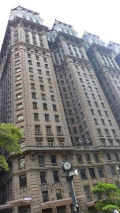 Les derniers étages de l'Edificio Martinelli ne se visitent malheureusement plus