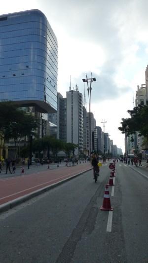 L'Avenida Paulista réservée aux piétons le dimanche