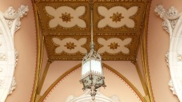 Même le plafond est joli!