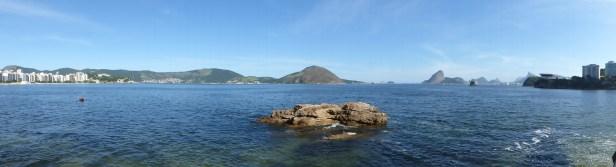 Vue sur Rio depuis Niteroi