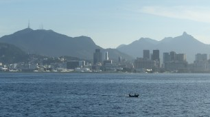 Vue sur Rio, au retour du ferry