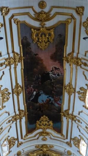Fresque au plafond