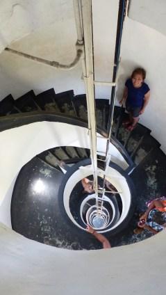 Petit effort pour monter au sommet du phare!
