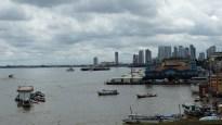 Vue sur l'ancien port et le marché