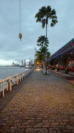 Les entrepôts du port ont été convertis en centre culturel