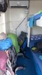 Notre cabine de 4m²!