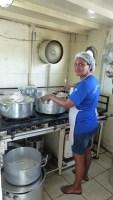 Notre cuisinière!