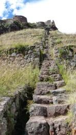 Dur, dur cet escalier!