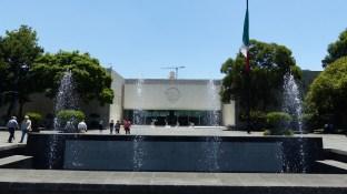 L'entrée du musée d'anthropologie