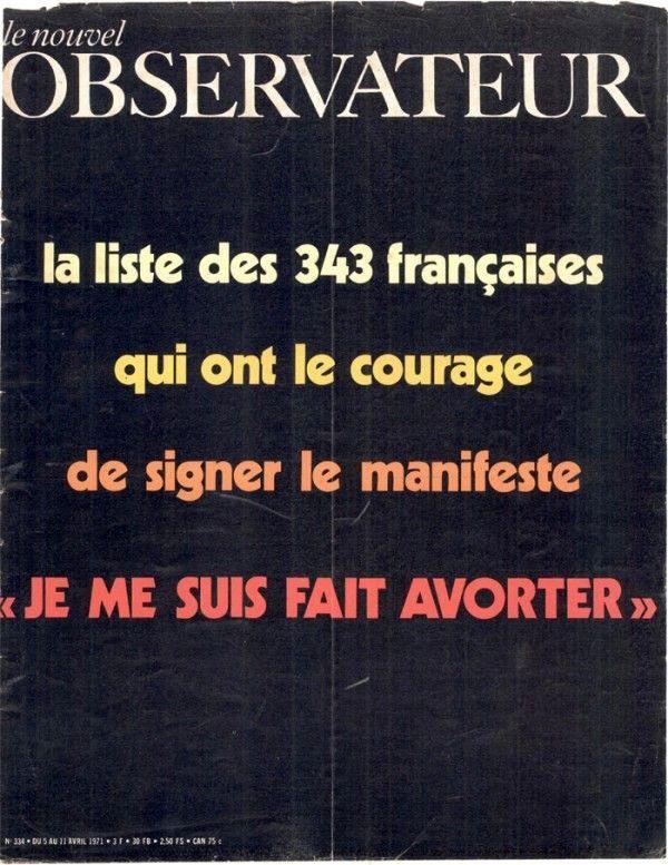 Couverture du Nouvel Observateur - 11 Avril 1971