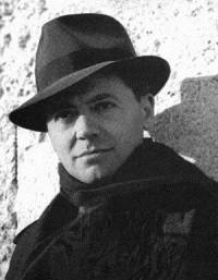 Portrait noir et blanc de Jean Moulin