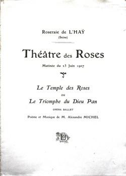 1907-06-23 - Programme de la Matinée au Théâtre des Roses p1-2_wp