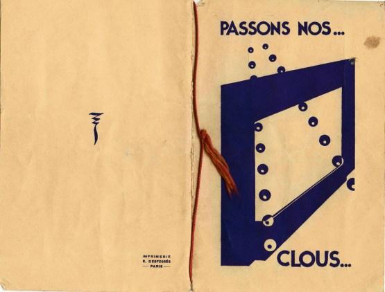1931 Passons nos clous c1 - FF024_wp