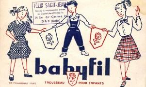 Babyfil, Buvard - G 6 2_wp