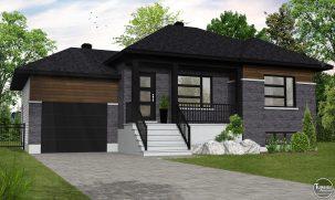 Option garage brique noires