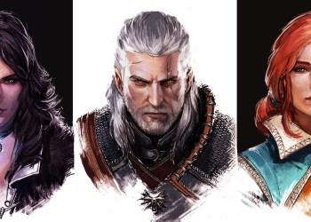 Йеннифер, Геральт, Трисс Меригольд. Ведьмак 3: Дикая охота (The Witcher 3: Wild Hunt)