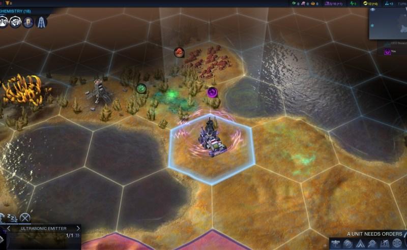 Civilization Beyond Earth — Юнит «Ультразвуковой излучатель»
