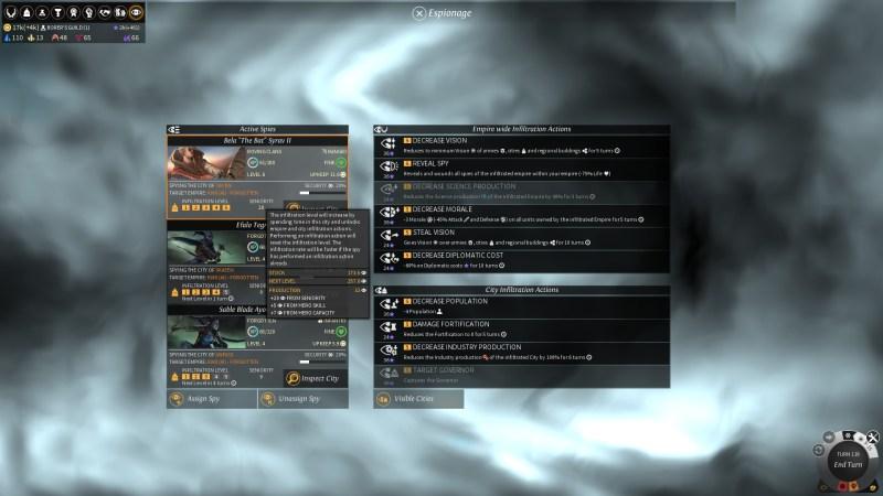 EL - Espionage - Seniority