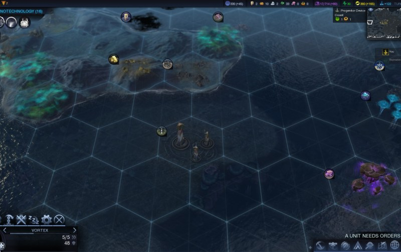 Civilization Beyond Earth — Устройства предечь можно найти только в водоёмах