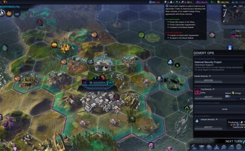 Civilization Beyond Earth — Черный рынок в начале игры