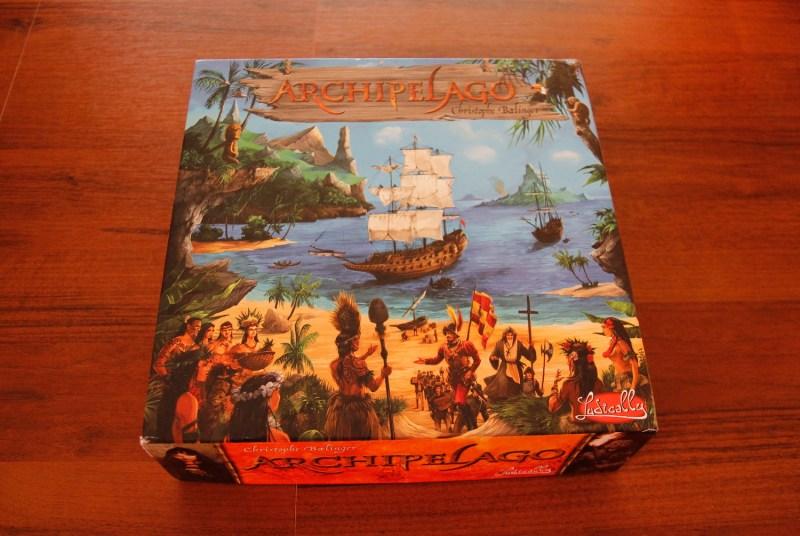 Коробка с игрой Archipelago
