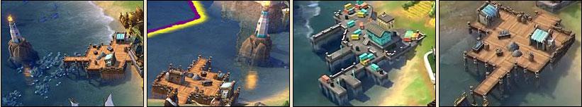 Гавань в Sid Meier's Civilization VI