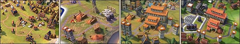 Индустриальная зона в Sid Meier's Civilization VI