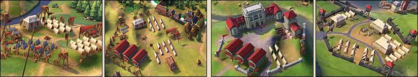 Военный лагерь в Sid Meier's Civilization VI