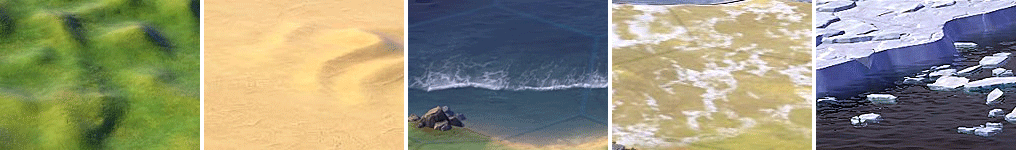 Типы местности в Sid Meier's Civilization VI