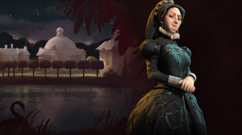 Екатерина Медичи - лидер Франции в Sid Meier's Civilization VI