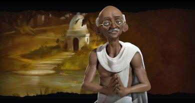 Ганди - лидер Индии в Sid Meier's Civilization VI