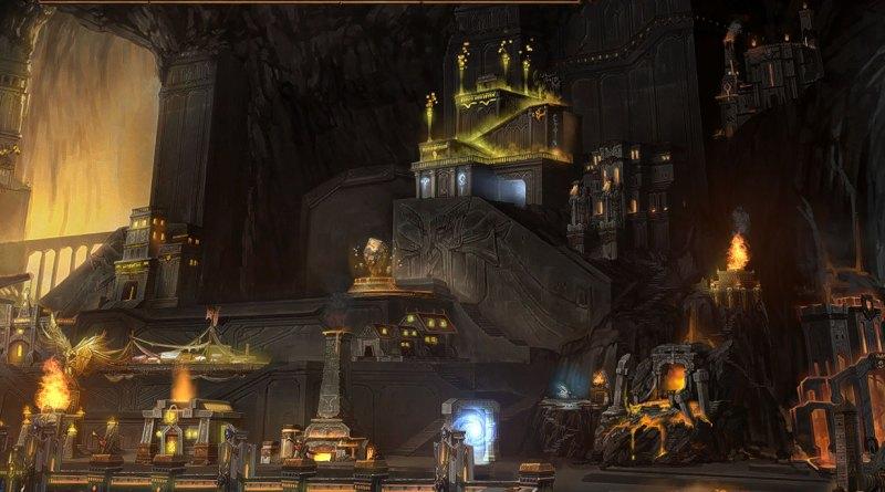 Экран города Северных кланов