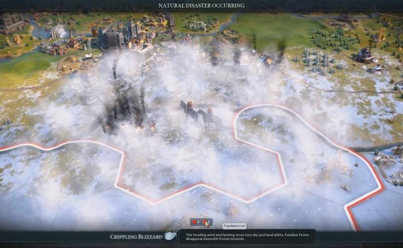Civilization VI — Gathering Storm — Снежный шторм