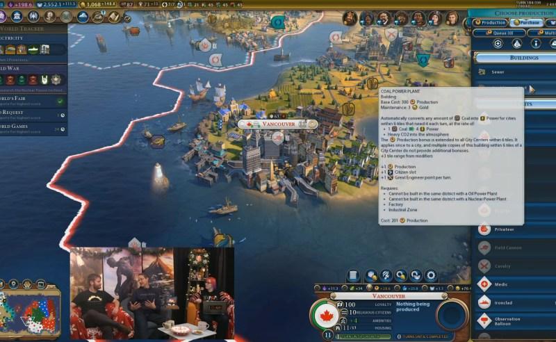Civilization VI — Gathering Storm — Угольная электростанция
