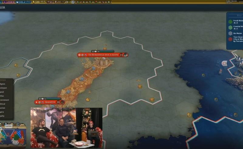 Civilization VI — Gathering Storm — Отличный старт у Маори