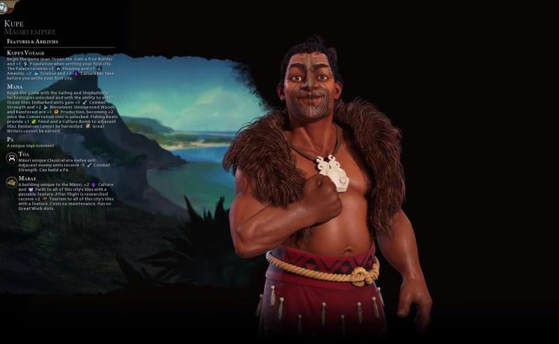 Civilization VI — Gathering Storm — Маори
