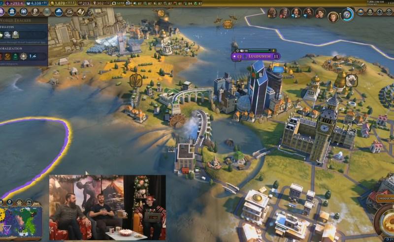 Civilization VI — Gathering Storm — Дамба с гидроэлектростанцией
