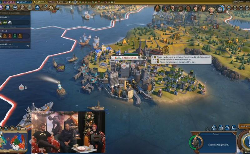 Civilization VI — Gathering Storm — Электрифицированный город