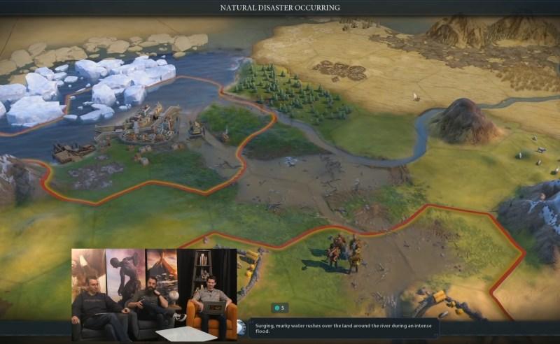Civilization VI — Gathering Storm — Речное наводнение