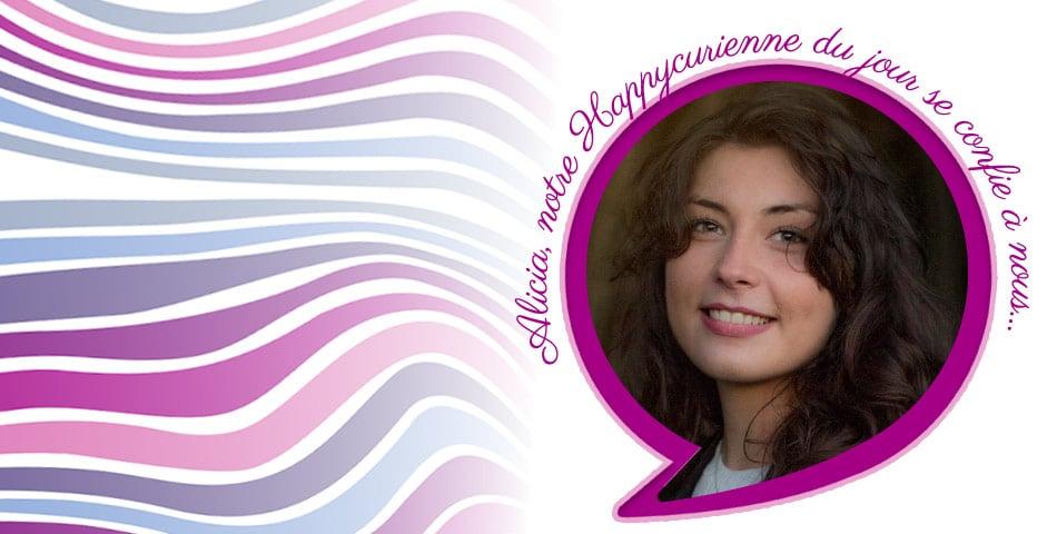 Alicia, fidèle happycurienne, adepte de La Joyeuse, notre soin complet holistique pour peaux normales à mixtes