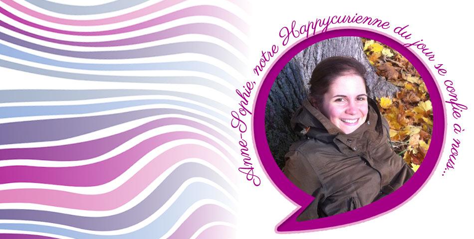 Anne-Sophie, fidèle happycurienne, adepte de La Re-belle, le serum slow age bio et vegan, 100% made in Sud-Ouest de la France