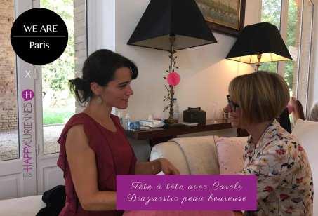 Escale Happycurienne au concept sotire We are paris pour un tête à tête avec Carole M.