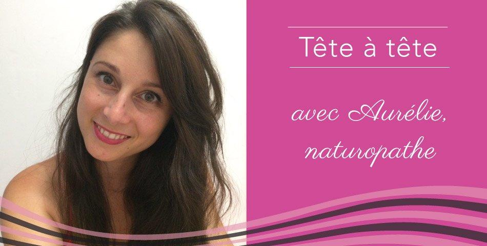 Portrait d'Aurélie Salvador, naturopathe