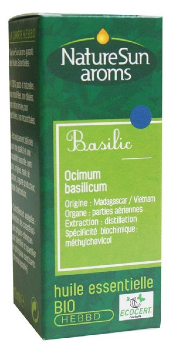 Huile essentielle de basilic – NatureSun Aroms