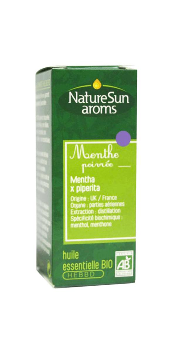 Huile essentielle de menthe poivrée – NatureSun Aroms