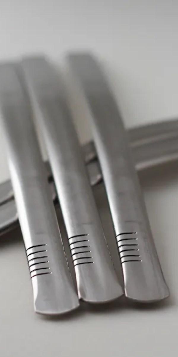 Bombilla (paille filtre à Maté) plate acier inoxydable – Ami Mate